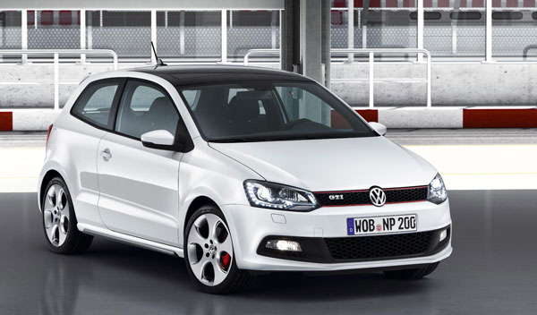 nuevo vw polo gti 180 cv cambio dsg y 6 litros de consumo medio. Black Bedroom Furniture Sets. Home Design Ideas
