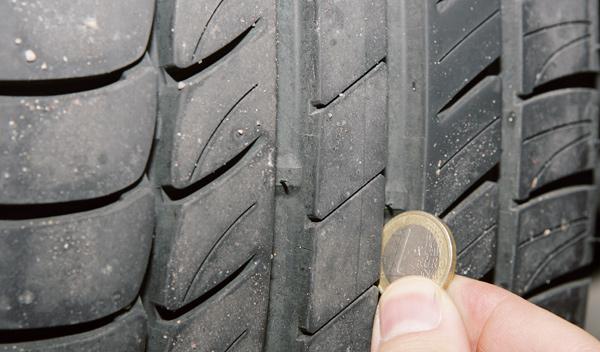 Presión de los neumáticos en la puesta a punto del vehículo