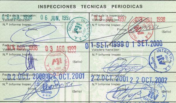 Documentación de la itv