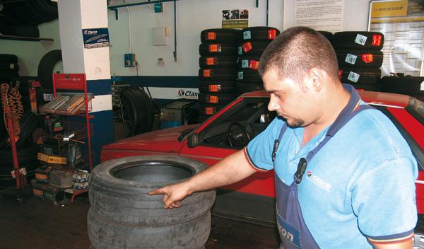 La vida útil del neumático se debe tener en cuenta en su mantenimiento