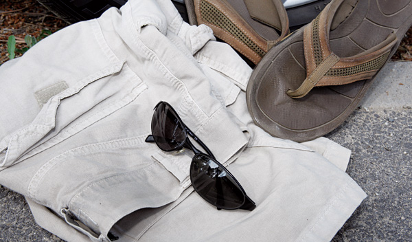 ropa adecuada conducir
