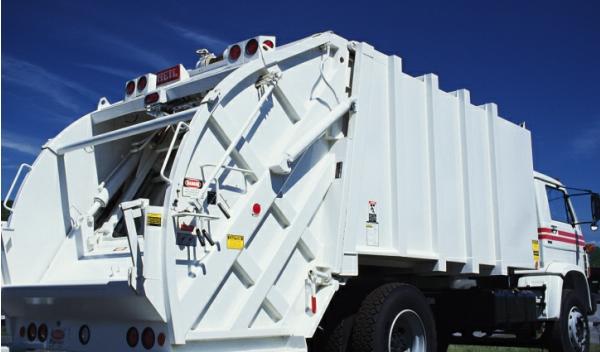 Camión de recogida de basura
