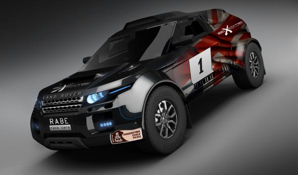 range rover evoque dakar 2013