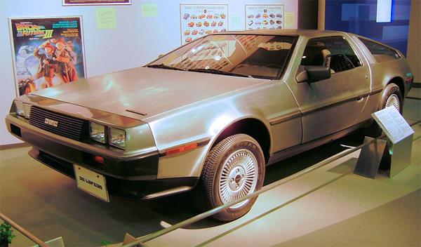 Delorean de Regreso al Futuro (Back to the future)
