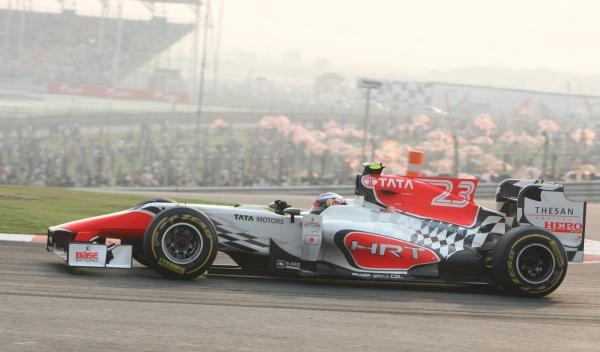 Daniel Ricciardo-HRT F1 Team