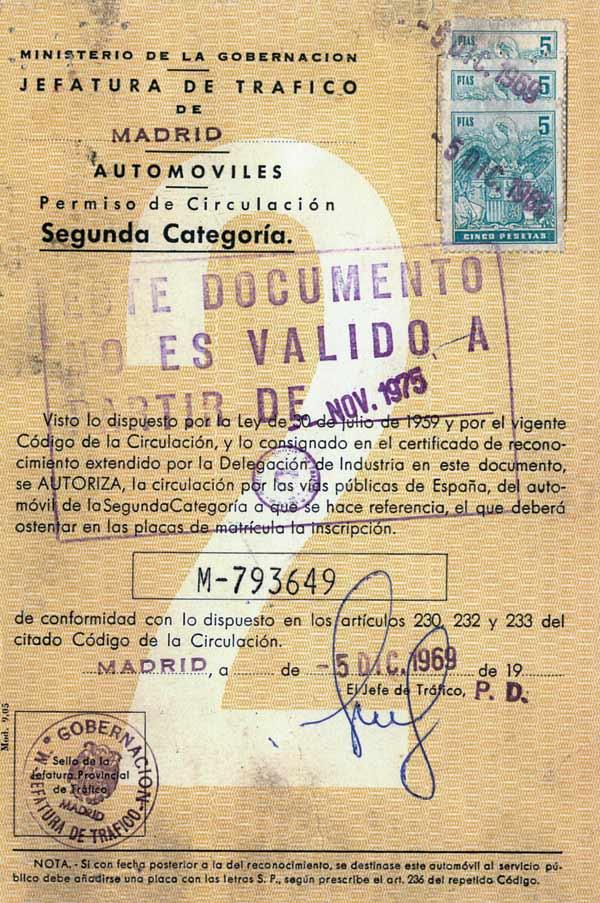 Certificado DGT