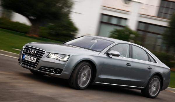 Audi A8 berlina de lujo