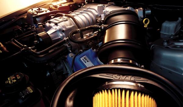 Motor V8 del Shelby GT500