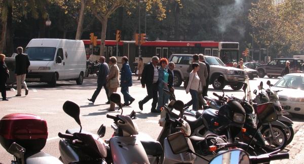 seguridad vial peatones