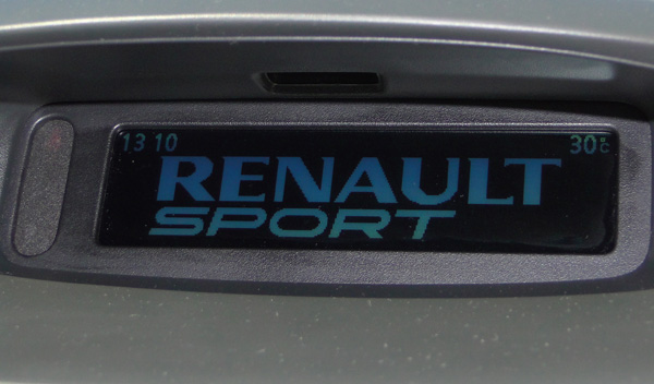 Pantalla de inicio Renault
