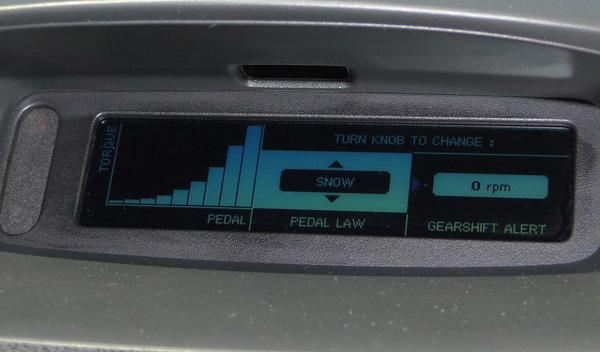 Snow Mode Mégane RS