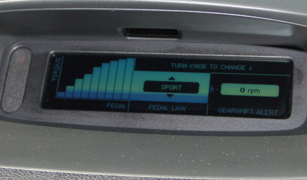 Sport Mode Mégane RS