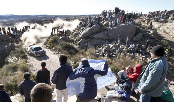 Ogier en el Rally de Argentina 2011