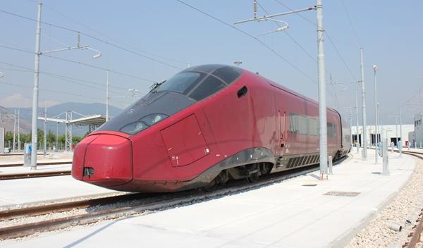 Italo, el tren Ferrari
