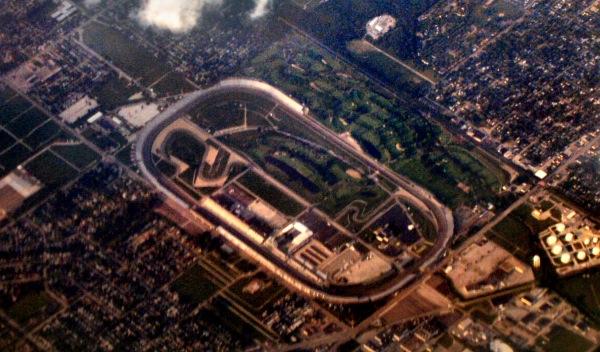 El famoso óvalo de las 500 Millas de Indianápolis 2012, que arranca en EEUU