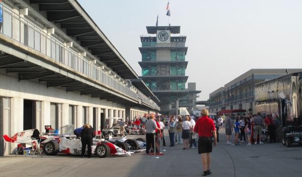 Paddock de las 500 Millas de Indianápolis 2012 en EEUU