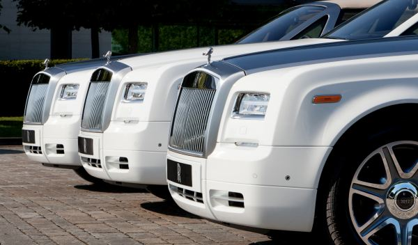 Rolls Royce Phantom Drophead Coupé JJOO Londres 2012