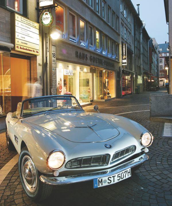 BMW 507 de Elvis Presley en Alemania