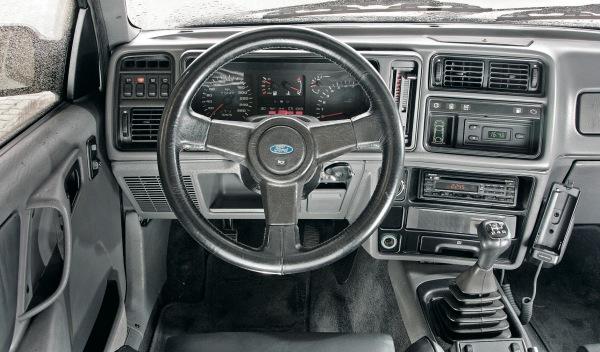 Ford Sierra Cosworth interior
