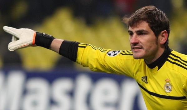 El coche de Iker Casillas