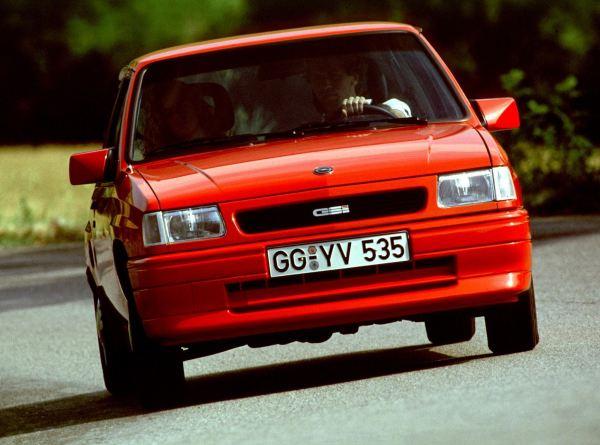 Opel Corsa A FL GSI 1990