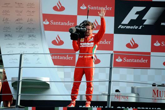 Alonso en el GP de Italia 2012
