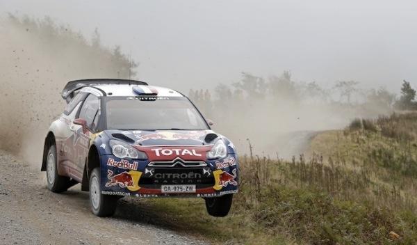 Rally de Gales 2012