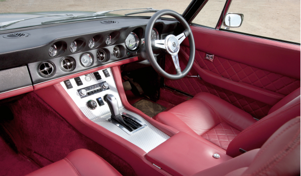 Jensen Interceptor interior general
