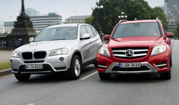comparativa bmw x3 20d vs mercedes glk 250 bluetec. Black Bedroom Furniture Sets. Home Design Ideas