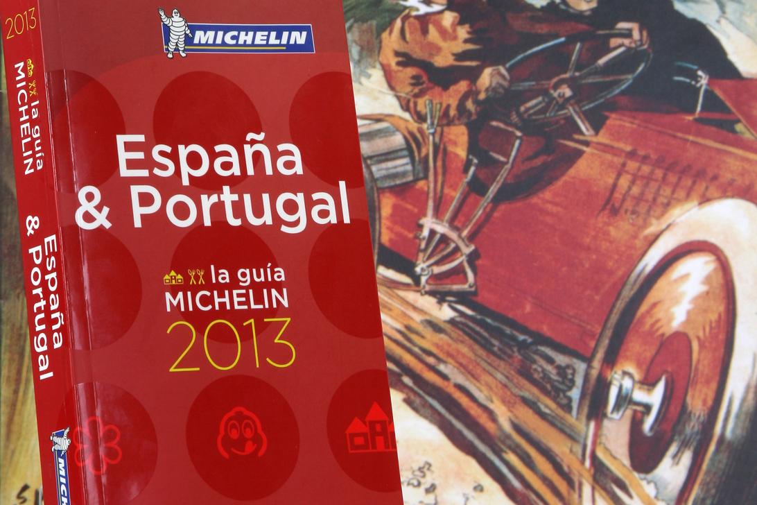 Guía Michelin España y Portugal 2013