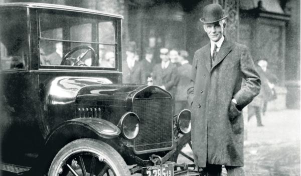 Ford con el Ford T