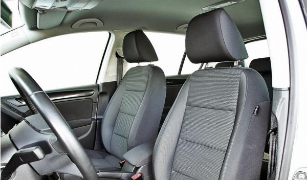 VW Golf VI asientos