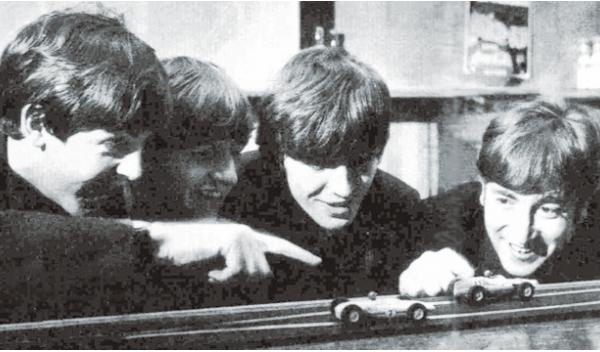 Scalextric Beatles