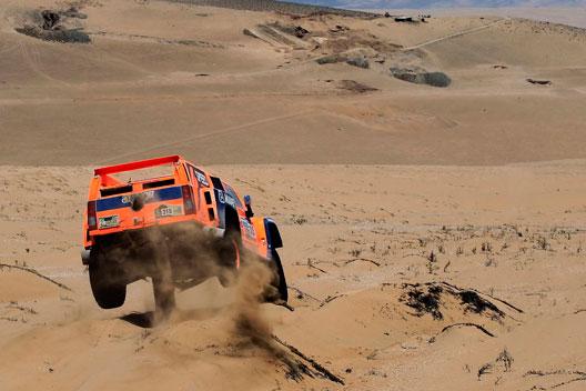 Rally Dakar 2013 Robby Gordon Hummer