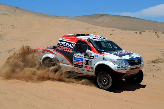 Rally Dakar 2013 Giniel de Villiers Toyota