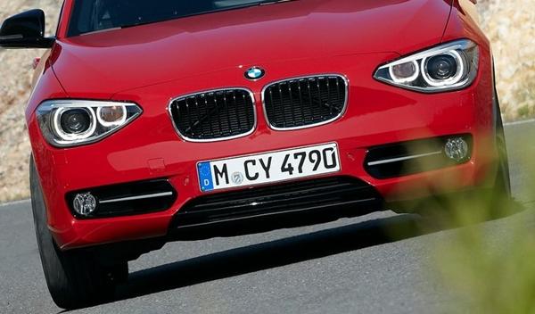 Frontal del actual BMW Serie 1