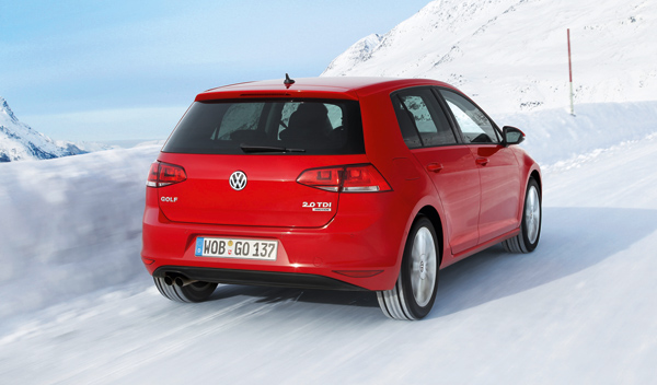 volkswagen golf 4motion 2012