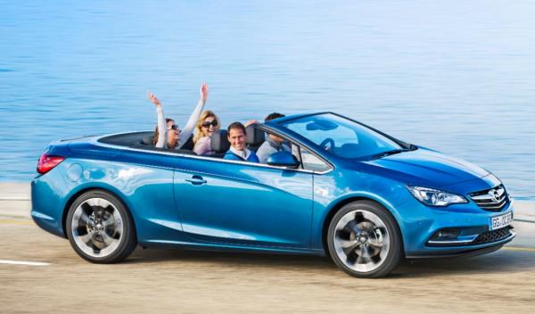 Opel Cabrio descapotable