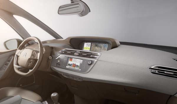 citroen c4 tecnospace interior