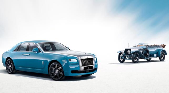 Rolls Royce Silver Ghost especial los Alpes 2013