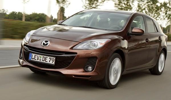 Mazda3 frontal