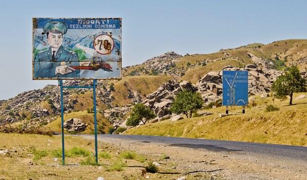 carreteras uzbekistan