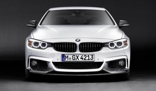BMW Serie 4 coupé M Performance frontal