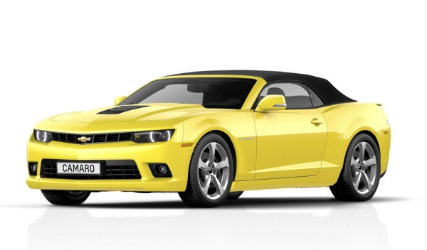 Chevrolet Camaro convertible 2013 frontal