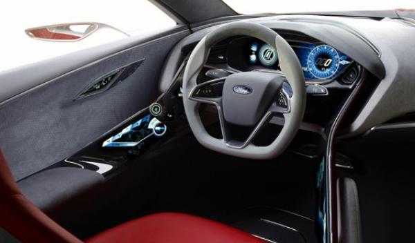 ford concept interior
