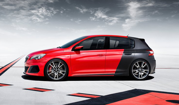 Peugeot 308 R Concept lateral