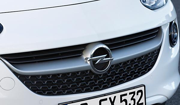 Calandra de la nueva versión del Opel Adam