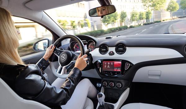 Opel Adam interior