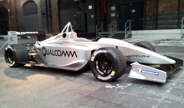 Prototipo monoplaza Fórmula E