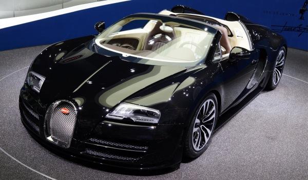 el bugatti veyron jean bugatti: 2,28 millones de euros   salón